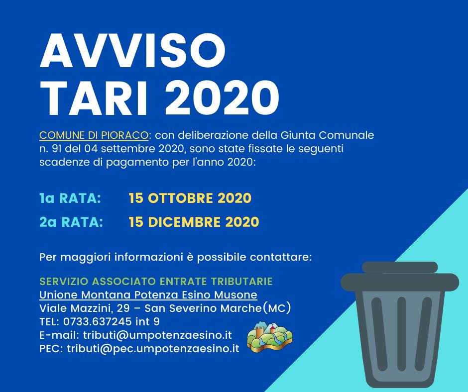 AVVISO TARI 2020 (2)